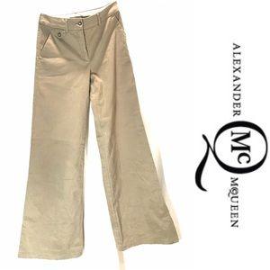 Alexander McQueen wide legged cotton pant